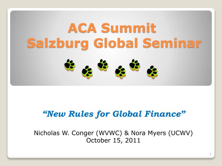 Aca summit salzburg global seminar