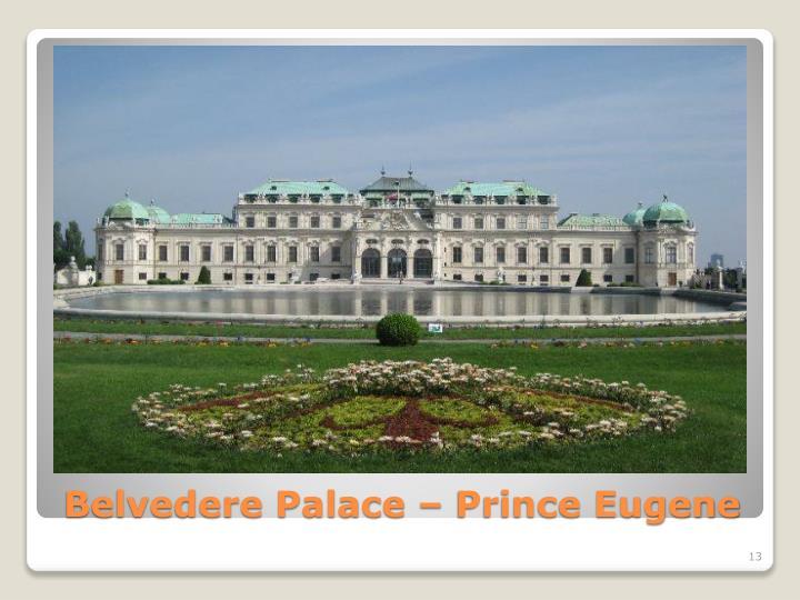 Belvedere Palace – Prince Eugene