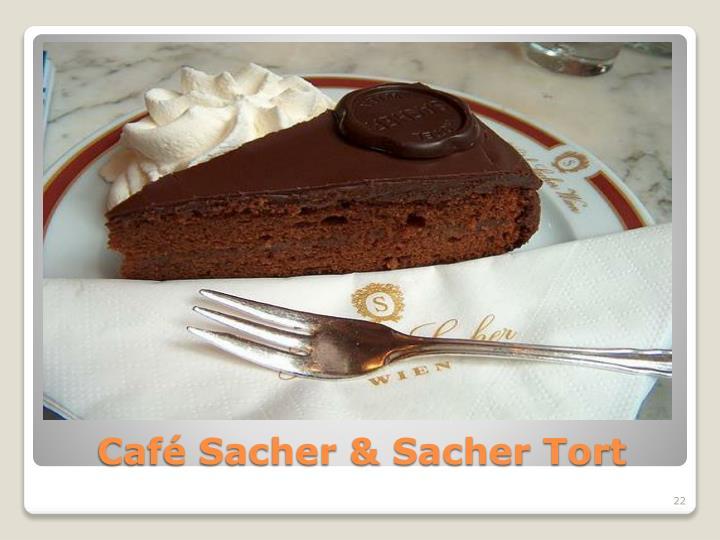 Café Sacher & Sacher Tort