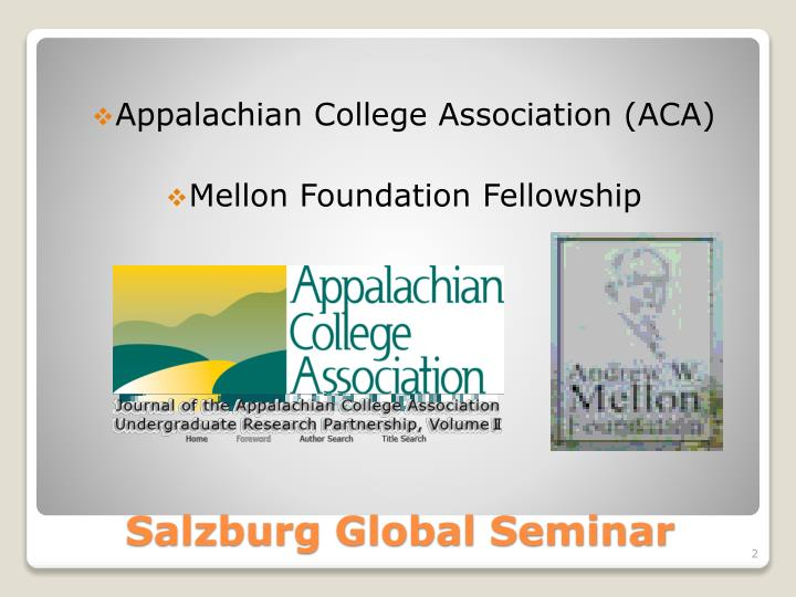 Appalachian College Association (ACA)