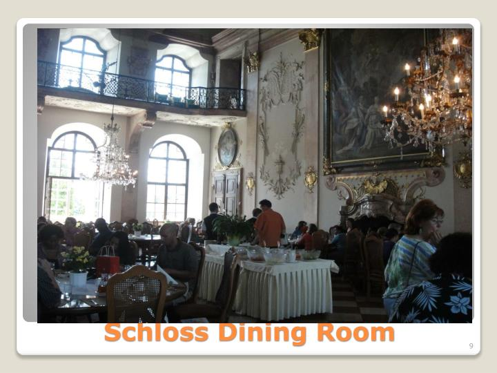 Schloss Dining Room
