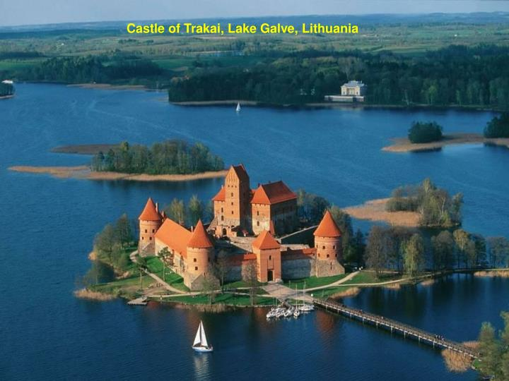Castle of Trakai, Lake Galve, Lithuania
