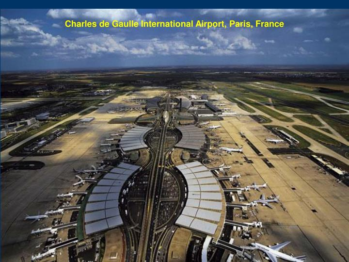 Charles de Gaulle International Airport, Paris, France