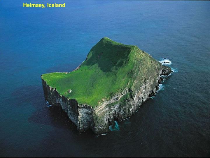 Helmaey, Iceland