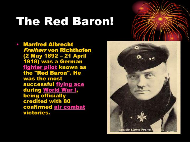 The Red Baron!