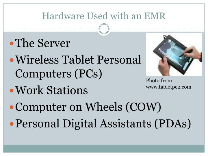Hardware Used with an EMR