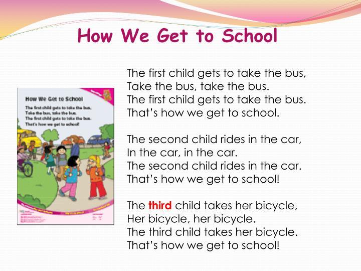 How We Get to School