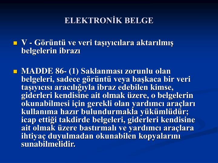 ELEKTRONK BELGE