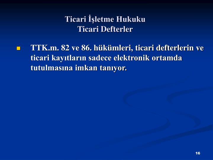 Ticari letme Hukuku
