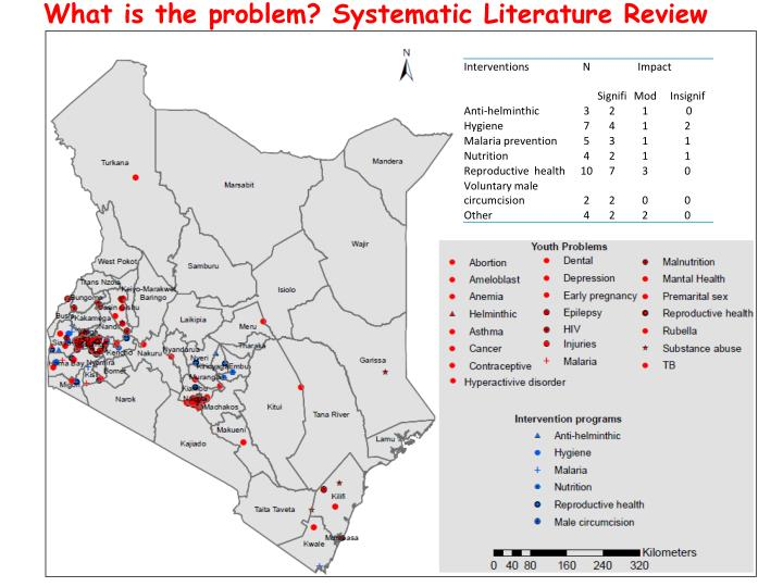 What is the problem? Systematic Literature Review