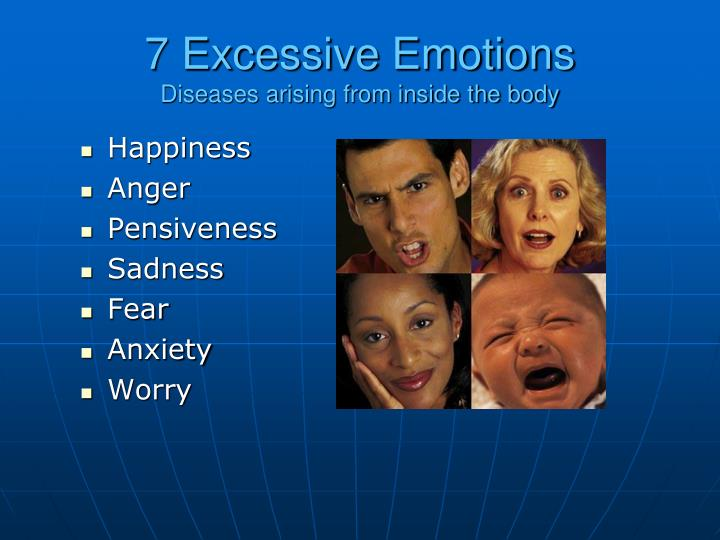 7 Excessive Emotions