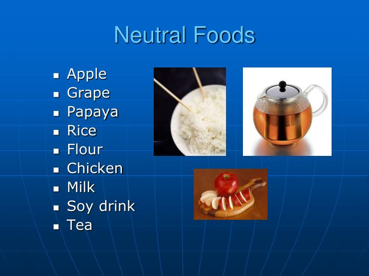 Neutral Foods