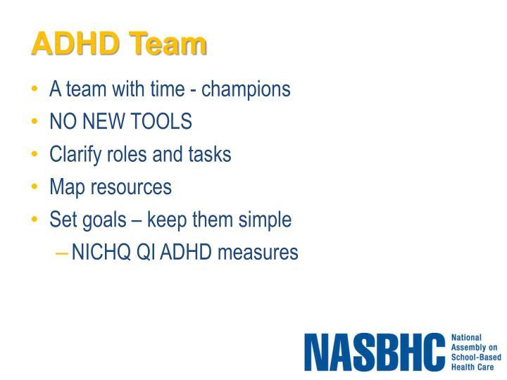 ADHD Team