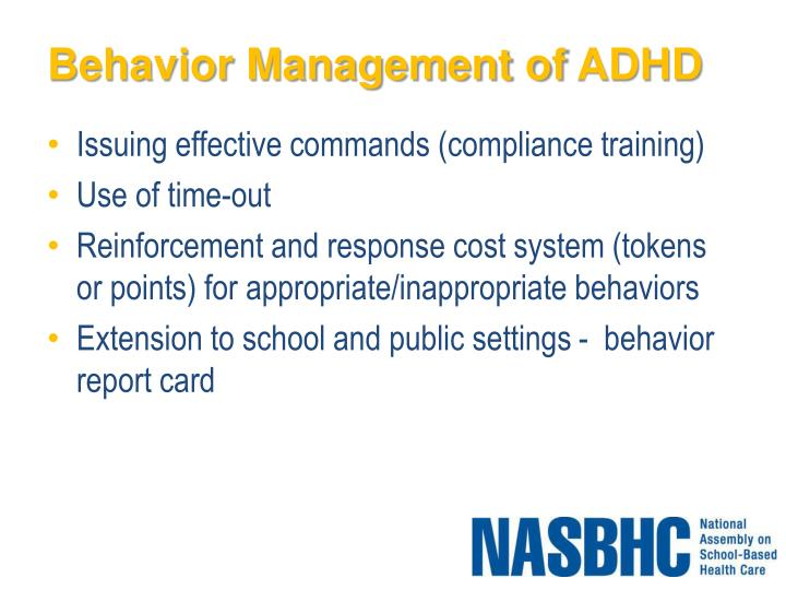 Behavior Management of