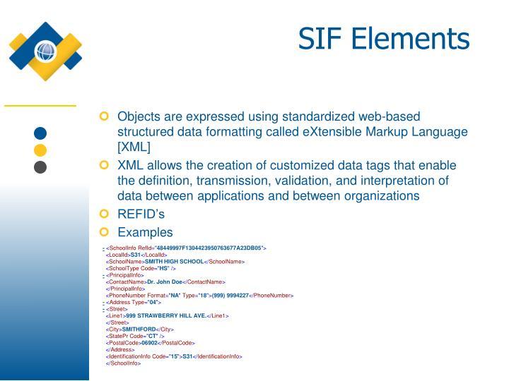 SIF Elements