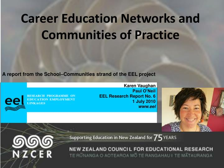 Career education networks and communities of practice