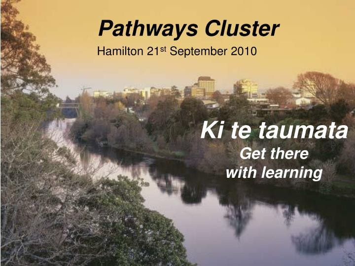 Pathways Cluster