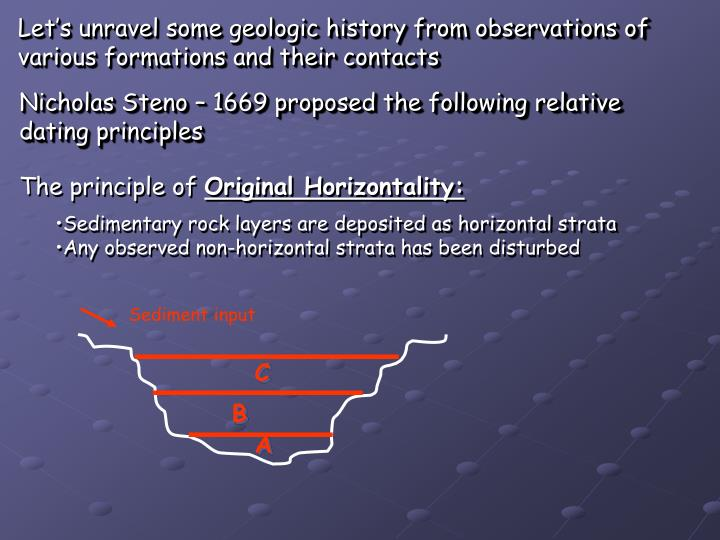 Let's unravel some geologic history from observations of