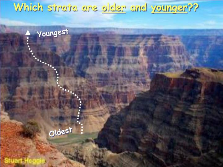 Which strata are