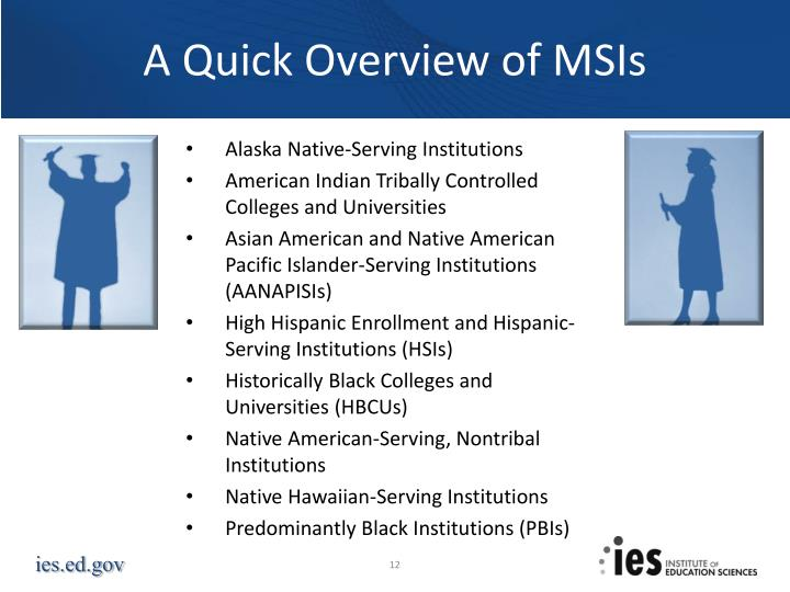 A Quick Overview of MSIs