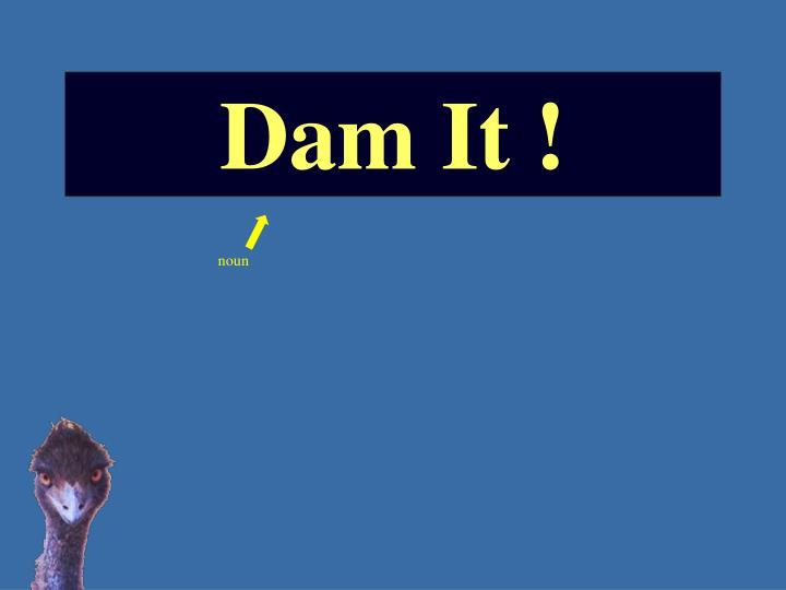 Dam It !