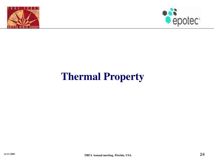 Thermal Property