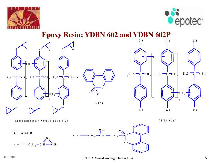 Epoxy Resin: YDBN 602 and YDBN 602P