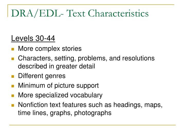 Levels 30-44