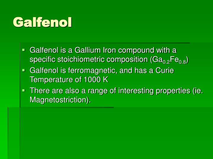 Galfenol
