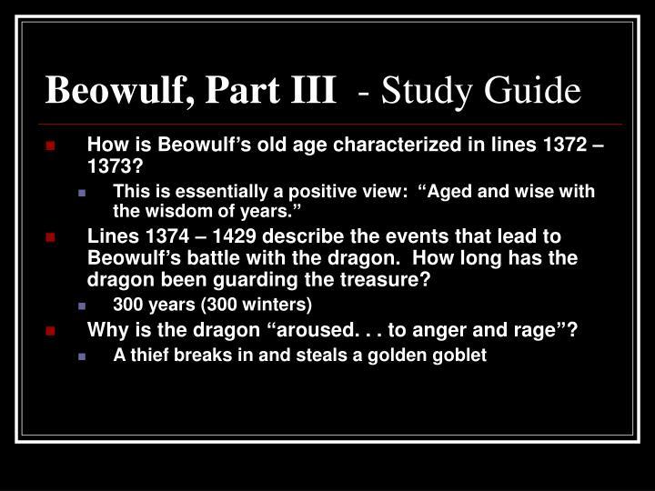 Beowulf, Part III
