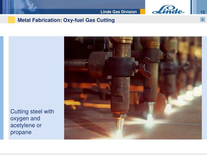 Metal Fabrication: Oxy-fuel Gas Cutting