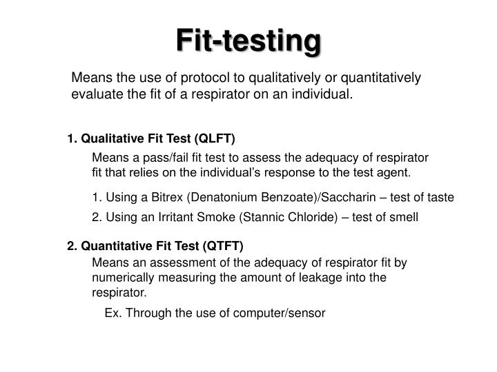 Fit-testing