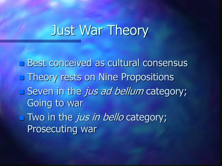 Just war theory1