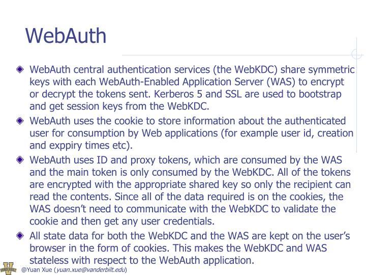 WebAuth