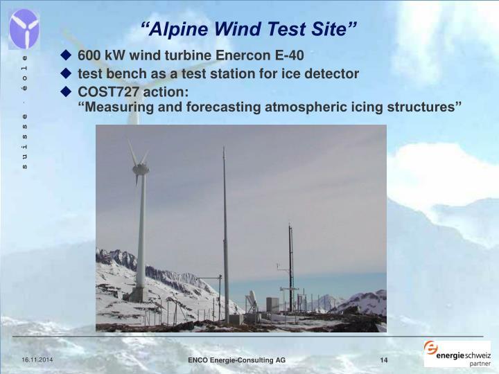 """Alpine Wind Test Site"""