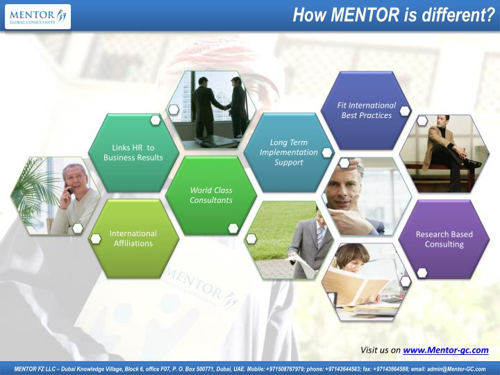 How MENTOR is different?