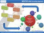 mentor hrm consulting approach