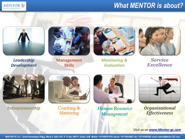 What MENTOR is about?