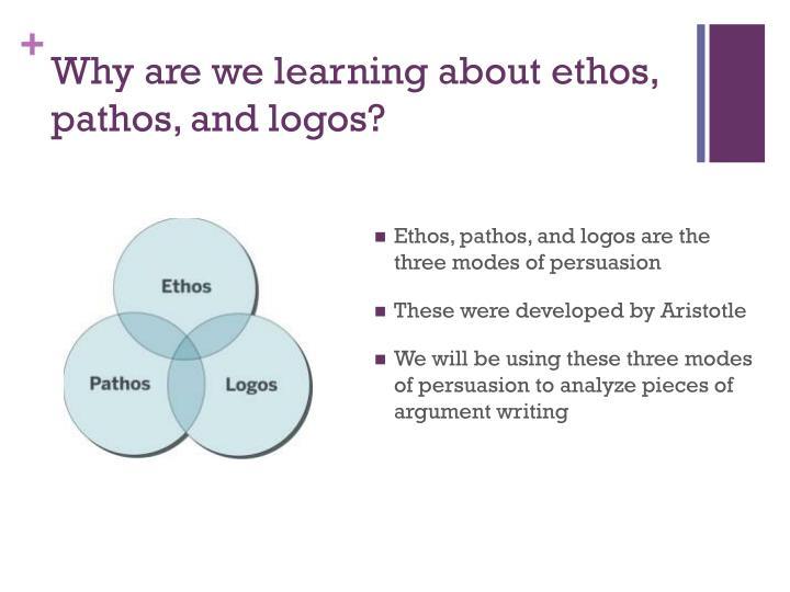 using pathos ethos and logos