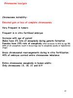 chromosome loss gain