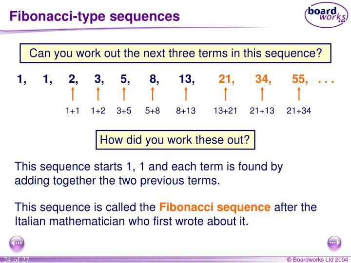Fibonacci-type sequences