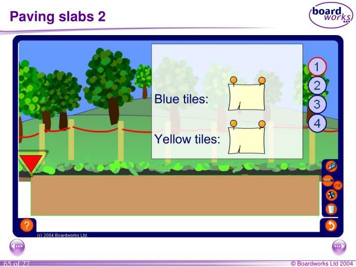 Paving slabs 2