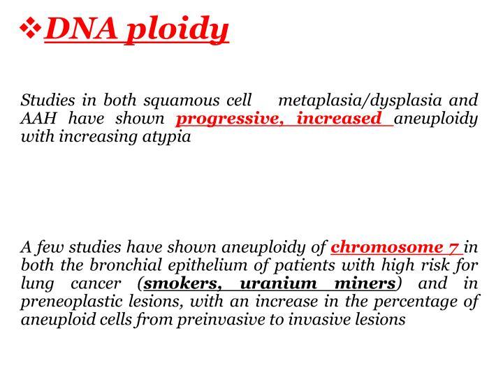 DNA ploidy