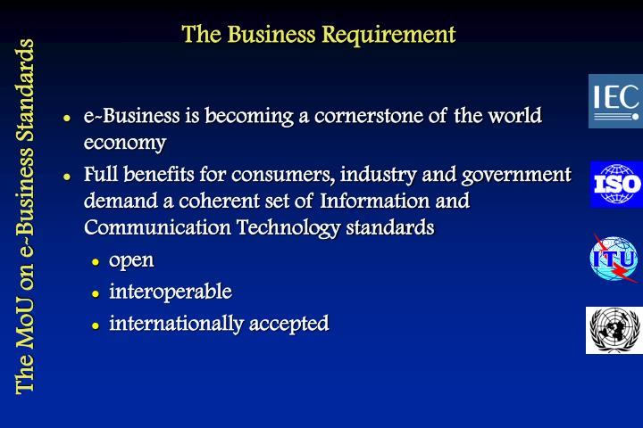 The business requirement