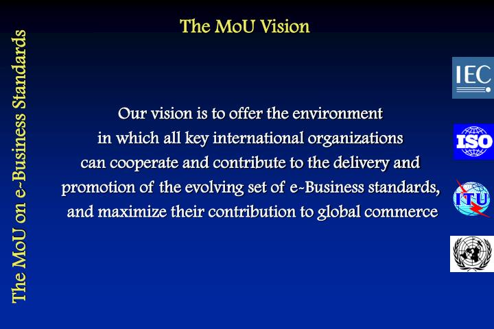 The MoU Vision