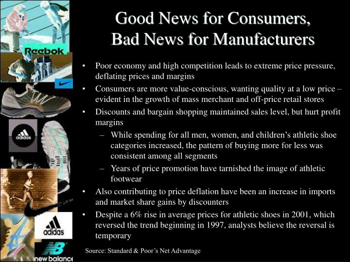 Good News for Consumers,