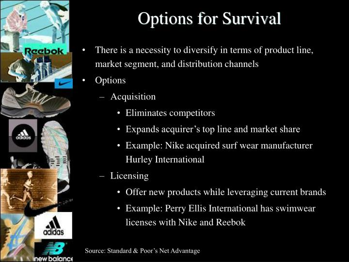 Options for Survival