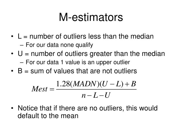 M-estimators