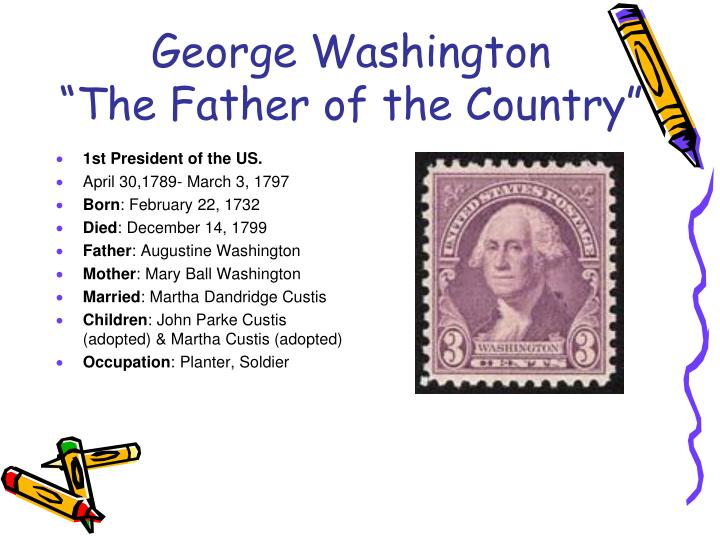 George washington the father of the country
