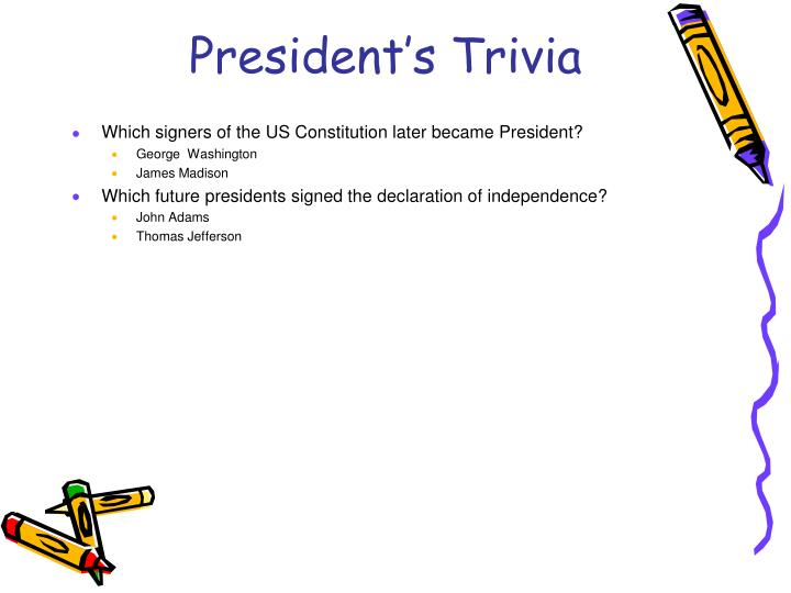 President's Trivia